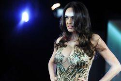 Tamara Ecclestone, at the Amber Lounge Fashion Show