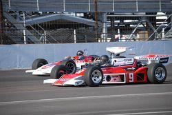 Voitures vintages à l'Indianapolis Motor Speedway