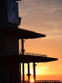 Sunrise at Indianapolis
