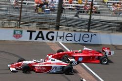 Zach Veach, Andretti Autosport et Gabby Chaves, Belardi Auto Racing