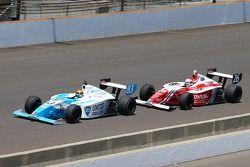 Matthew Brabham, Andretti Autosport and Zach Veach, Andretti Autosport