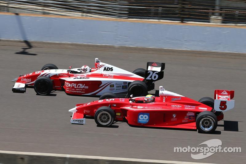 Zach Veach, Andretti Autosport e Gabby Chaves, Belardi Auto Racing