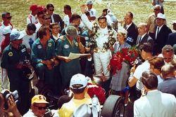 Racewinnaar Jim Clark