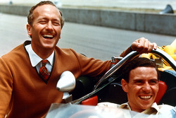Colin Chapman and Jim Clark