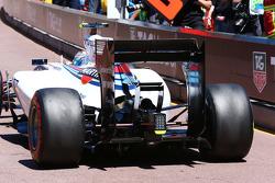 Valtteri Bottas, Williams FW36 asa traseira