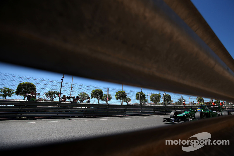 Marcus Ericsson, Caterham F1 Team