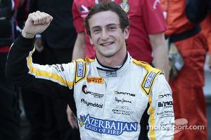 Race winner Stephane Richelmi