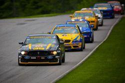 #35 Phoenix American Motorsports Mustang Boss 302 R: Preston Calvert, Andrew Aquilante, Kurt Rezzeta