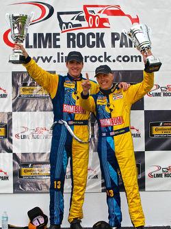 CTSCC GS sınıf galibi #13 Rum Bum Racing Porsche 997: Matt Plumb, Nick Longhi