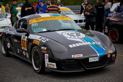 #50 BERG Racing Porsche Cayman: John Weisberg, Cody Ellsworth