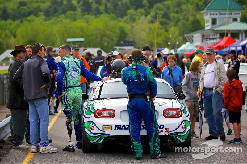 #27 Freedom Autosport 马自达 MX-5: 利亚姆·德怀尔, 汤姆·朗