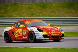 #43 Team Sahlen Porsche Cayman: Joe Nonnamaker, Joe Sahlen