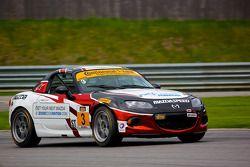 #3 CJ Wilson Racing Mazda MX-5: Tyler McQuarrie, Marc Miller