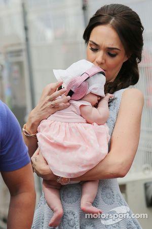 Tamara Ecclestone, com filha Sophie