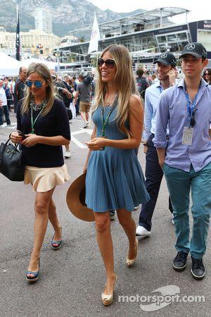 Vivian Sibold, esposa de Nico Rosberg, Mercedes AMG F1