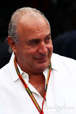 Sir Philip Green, Arcadia Group CEO