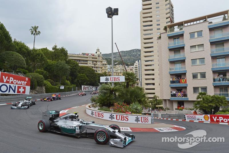 Нико Росберг. ГП Монако, Воскресная гонка.