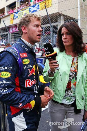 Sebastian Vettel, Red Bull Racing no grid