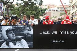Sebastian Vettel, no grid