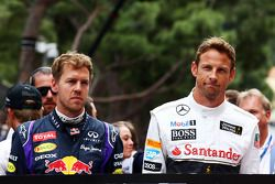 Sebastian Vettel et Jenson Button rendent hommage à Jack Brabham