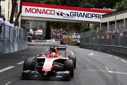 Jules Bianchi sur la grille