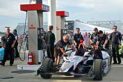 Voiture de Kurt Busch, Andretti Autosport Honda