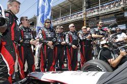 L'equipaggio Andretti Autosport