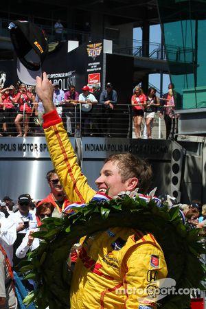 Ryan Hunter-Reay, Andretti Autosport Honda heureux