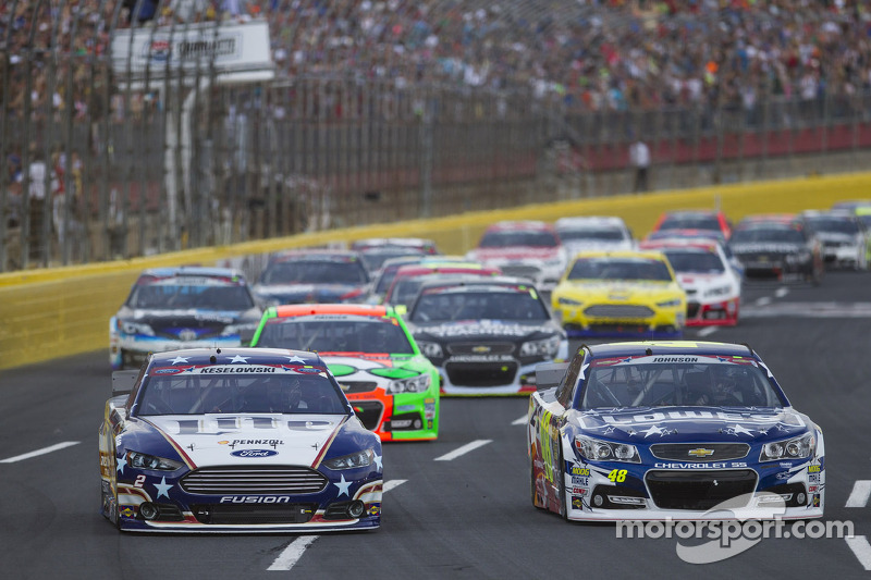 Partenza: Jimmie Johnson, Hendrick Motorsports Chevrolet al comando