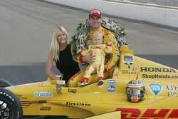 Ryan Hunter-Reay, wife Beccy et son fils Ryden