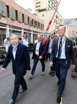 (Da sinistra a destra): Jean Todt, Presidente FIA e Ari Vatanen, Ex Campione mondiale di Rally