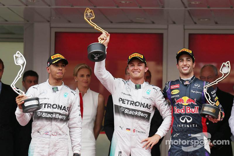 17 (2014) GP de Mónaco Primer lugar