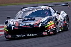 #90 Scuderia Villorba Corse Ferrari 458 Italia: Andrea Rizzoli, Stefano Gai, Francesco Castellacci