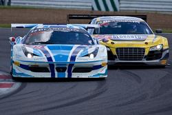 #49 AF Corse Ferrari 458 Italia: Jean-Marc Bachelier, Yannick Mallegol, Howard Blank