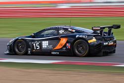 #15 Boutsen Ginion McLaren MP4-12C: Karim A. Ojjeh, Olivier Grotz, Frederic Vervisch