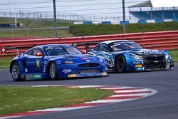 #14 Emil Frey Racing Emil Frey G3 Jaguar: Lorenz Frey, Gabriele Gardel, Fredy Barth ; #79 Ecurie Ecosse BMW Z4 Andrew Smith, Alasdair McCaig, Oliver Bryant