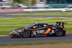 #16 Boutsen Ginion McLaren MP4-12C: Alex Demirdjian,Shahan Sarkissian, Phil Quaife