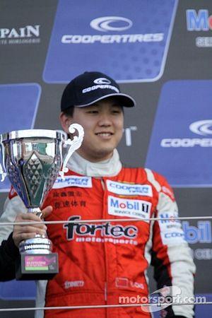 Podium: third place Peter Li Zhi Cong