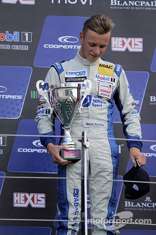 Vencedor da corrida Marvin Kirchhofer