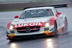 #85 HTP Motorsport Mercedes SLS AMG GT3: Lucas Wolf, Sergei Afanasiev, Stef Dusseldorp