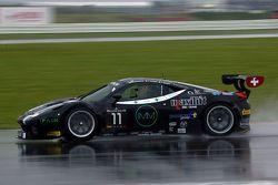 #11 Kessel Racing 法拉利 458 Italia: 迈克尔·布隆尼斯泽维斯基, 亚历山德罗·博纳奇尼,贾科莫·彼得罗贝利