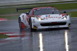 #41 Sport Garage Ferrari 458 Italia: George Cabannes, Bernard Delhez, Romain Brandela