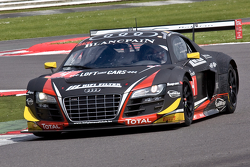 #4 Belgian Audi Club Team WRT Audi R8 LMS Ultra: Yves Weerts, Pierre Hirschi, Jean-Luc Blanchemain