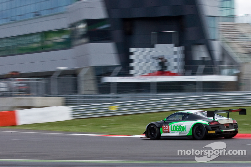 #22 Team Parker Racing Audi R8 LMS Ultra: Ian Loggie, Chris Jones, Julian Westwood