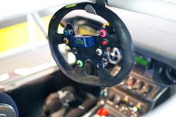 Steering wheel detail
