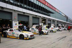 ROWE Racing Mercedes