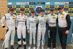 领奖台:比赛获胜者 Maximilian Götz, Maximilian Buhk, 第二名 Robert Renauer, Norbert Siedler, 第三名 Daniel Keilwitz