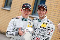 Race winners Maximilian Buhk, Maximilian Götz
