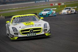 #26 H.T.P. Motorsport Mercedes-Benz SLS AMG GT3: Maximilian Götz, Maximilian Buhk