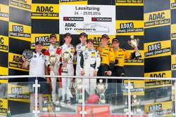 Podium: 1ers Dominik Baumann, Claudia Hurtgen, 2èmes Kelvin van der Linde, Rene Rast, 3èmes Martin Ragginger, Jaap van Lagen